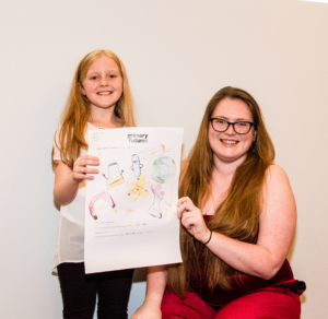 Winners of primary school Drawing the Future competition meet their career heroes